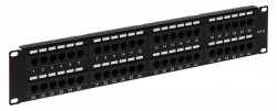 PATCH PANEL RJ-45 PP-48/RJ/6